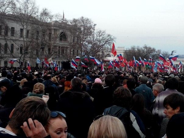 Жители Севастополя: