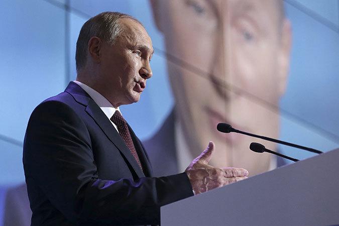 На Нобелевскую премию мира выдвинут Владимир Путин