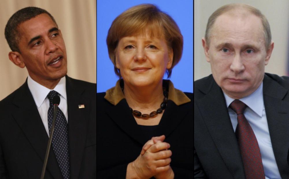 Путин напомнил Меркель и Обаме о проблеме блокады Приднестровья