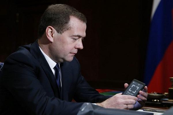 Российские чиновники будут пользоваться YotaPhone