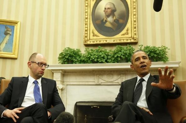 Российских журналистов не пустили на пресс-конференцию Яценюка и Обамы