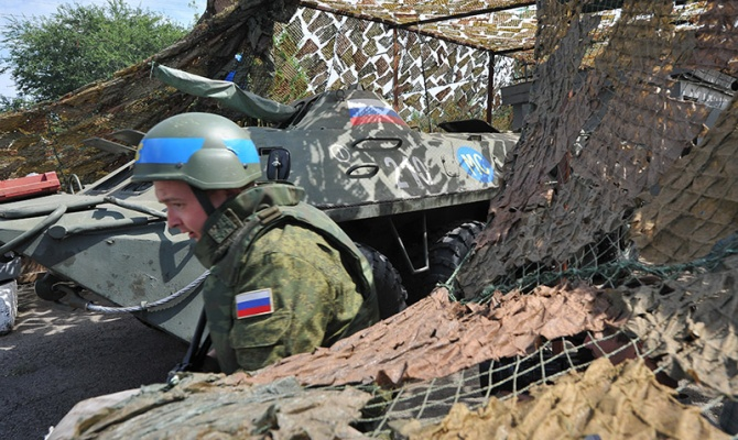 Минобороны опровергает информацию о скоплении войск на границе с Украиной
