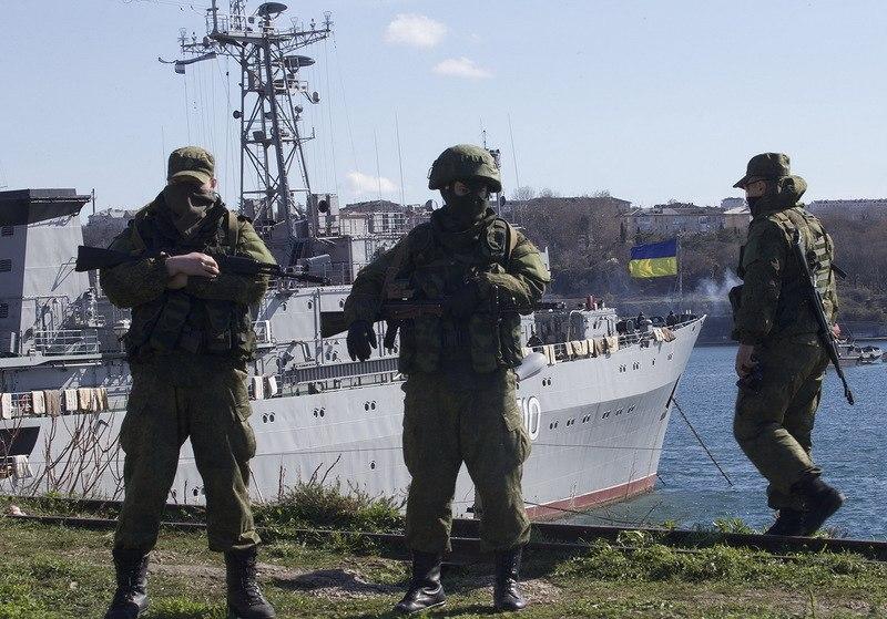 Служащий Военно-Морского Флота РФ: