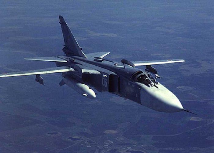 На Украине рухнул военный самолет