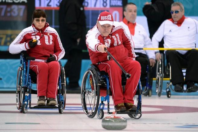 Паралимпиада 2014: Российская сборная обыграла команду Норвегии в керлинге на колясках