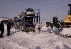 В Волгоградской области из-за снегопада перекрыты три автотрассы