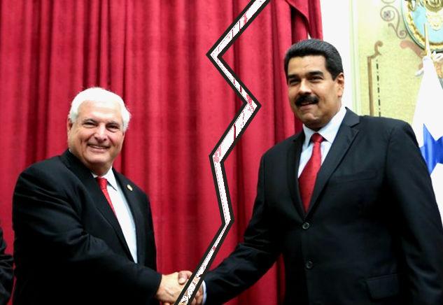 Венесуэла разорвала дипломатические отношения с Панамой