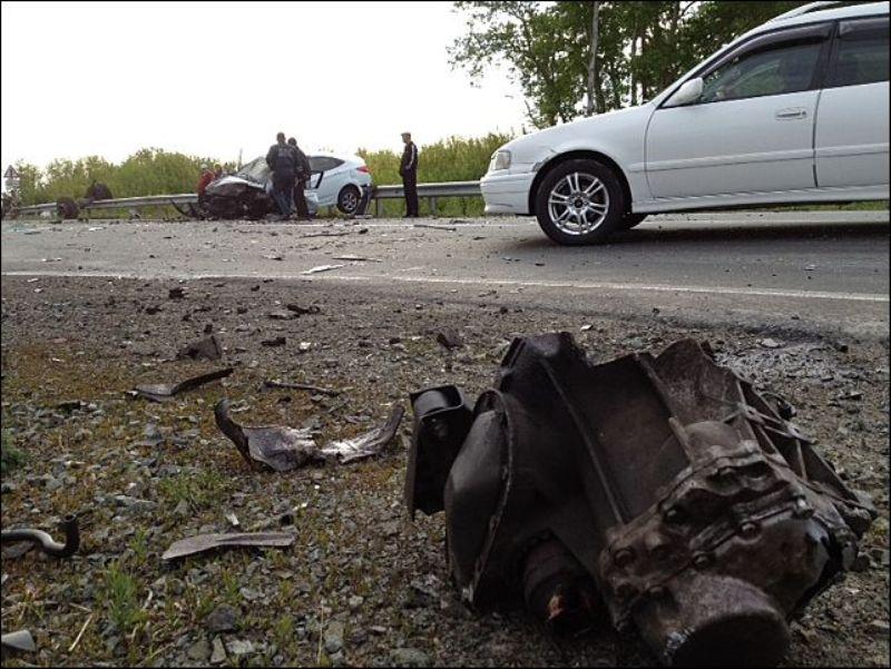 Крупное ДТП на Минском шоссе: 2 погибло, 4 пострадали