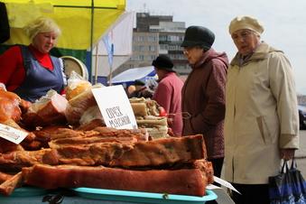 На первой в этом году ярмарке красноярцы потратили 2 миллиона рублей