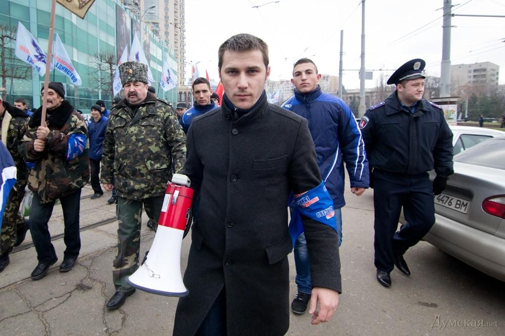 В Одессе задержан организатор пророссийских митингов