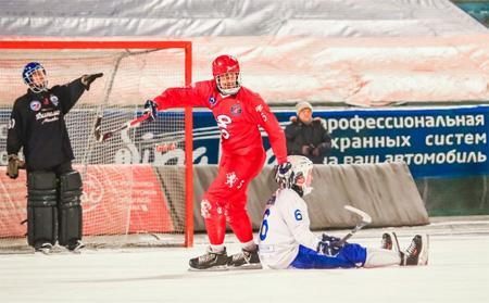 Красноярский «Енисей» стал чемпионом России по бенди