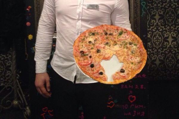 В Волгограде появилась пицца «Украинская» без куска Крыма