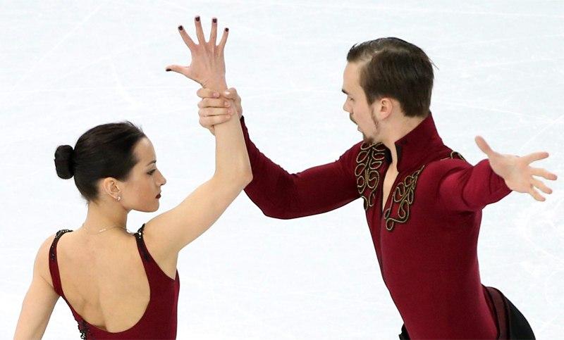 Ксения Столбова и Федор Климов - третьи после короткой программы