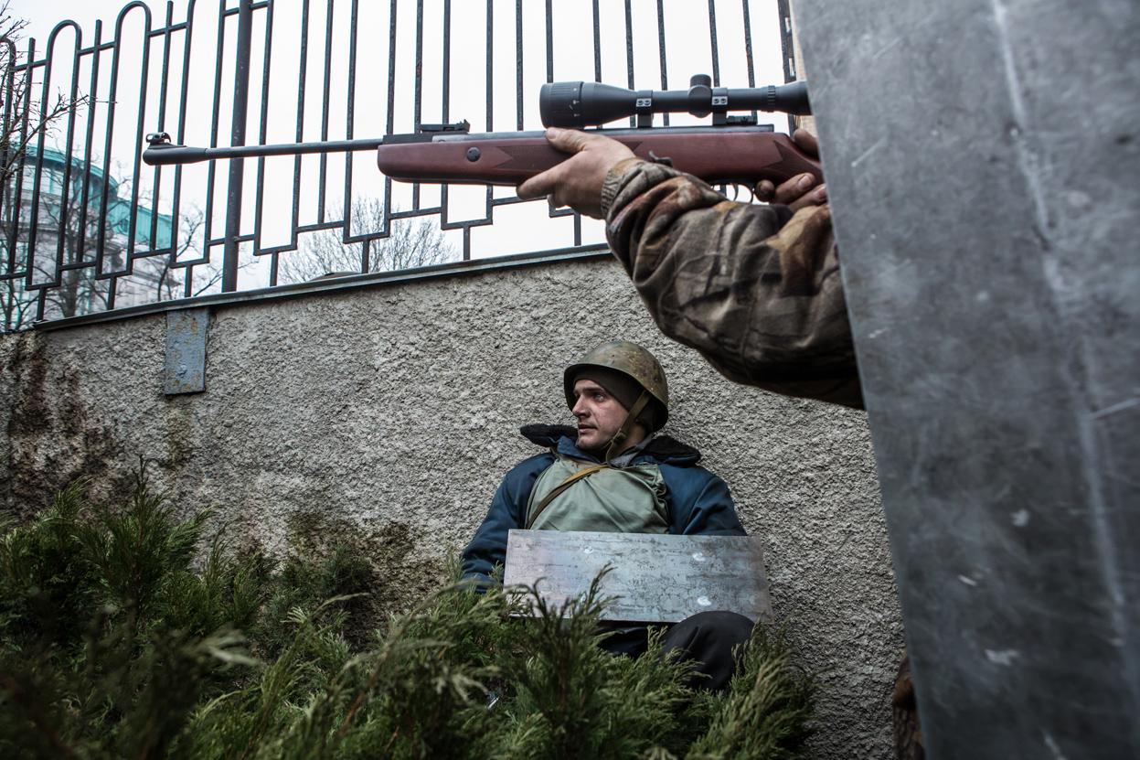 Новые сенсационные подробности снайперского обстрела Майдана