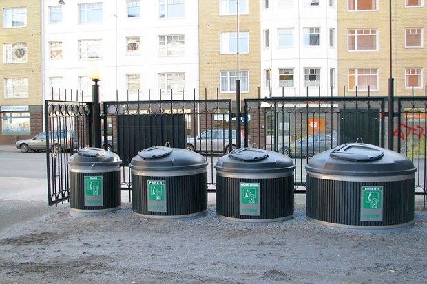 В Красноярске летом появятся финские мусорные баки