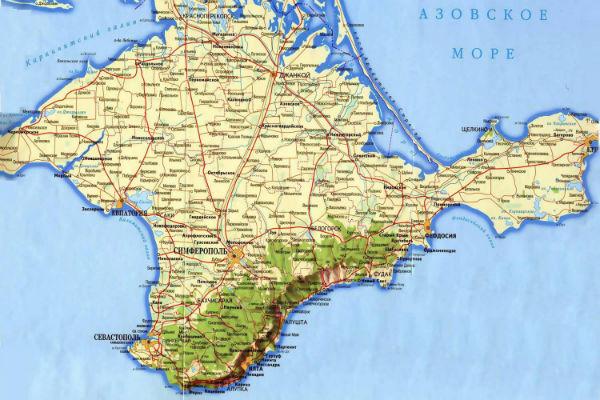 National Geographic обозначит Крым на карте России