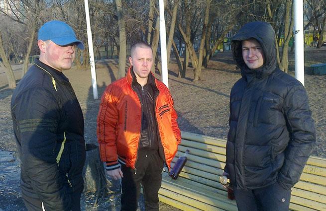 Украинских националистов поймали в Москве