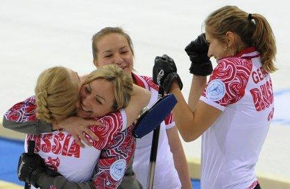 Российские керлингистки вышли в плей-офф чемпионата мира
