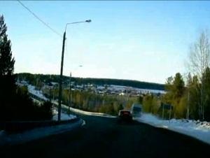 На Байкальском тракте микроавтобус с пассажирами съехал в кювет