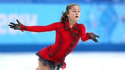 Юлия Липницкая - серебро на ЧМ по фигурному катанию