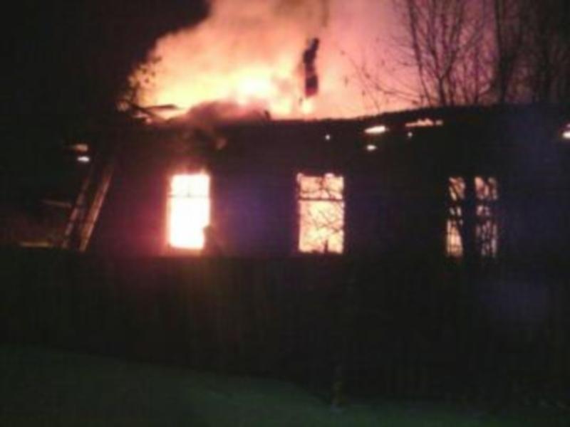 Отец и сын погибли на пожаре в Приангарье