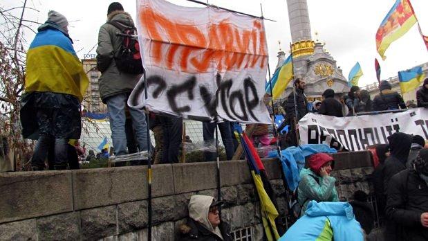 Ночные разговоры на Майдане: