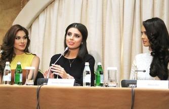 Пресс-конференция «Мисс россия-2014». Брюнетки правят миром