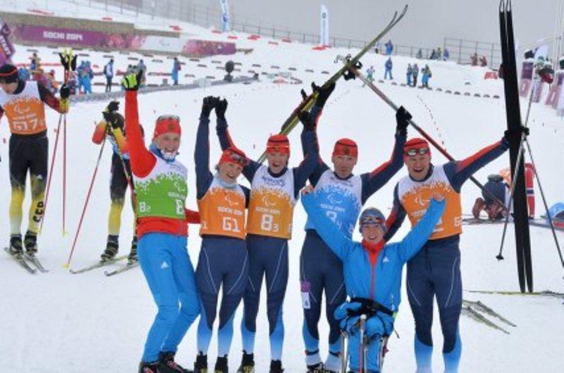 Российские паралимпийцы выиграли золото в смешанной эстафете