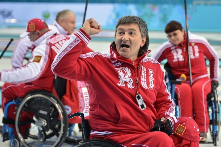 В Сочи сборная России по керлингу обыграла сборную Китая