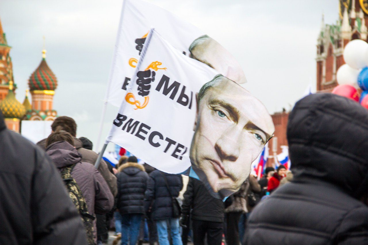 Россияне верят – присоединение Крыма – это попытка защитить русское население полуострова