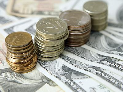 Впервые за две недели за доллар стали давать менее 36 рублей