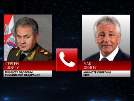 Министр обороны РФ Шойгу переговорил по телефону с главой Пентагона и посоветовал «не нагнетать»