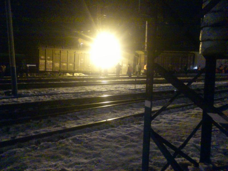 Грузовые вагоны сошли с рельсов в Приангарье