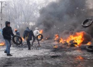 В центре Киеве массовая драка