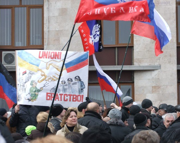 В Харькове уже освободили здание областной администрации