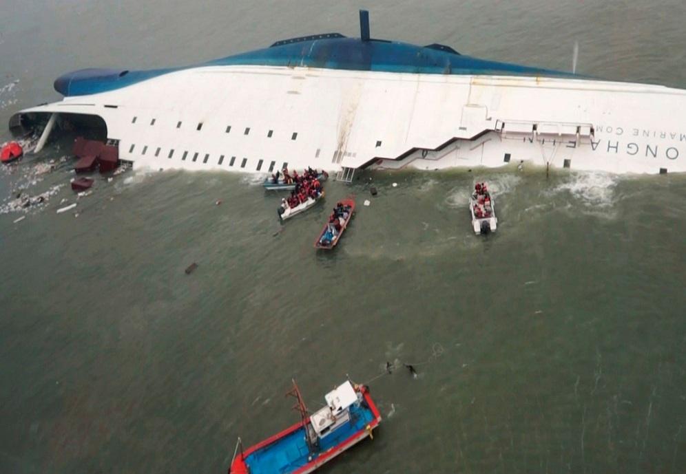 Опубликованы переговоры экипажа затонувшего у берегов Южной Кореи парома