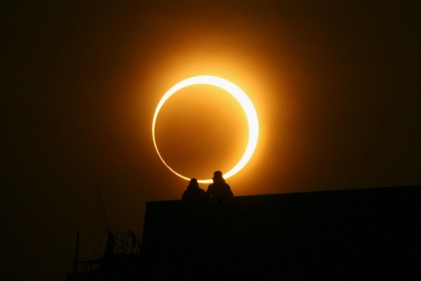 29 апреля состоится необычное солнечное затмение