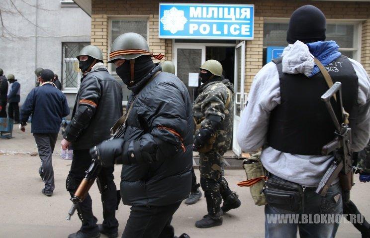 Украинский спецназ ликвидировал один из блокпостов в Славянске