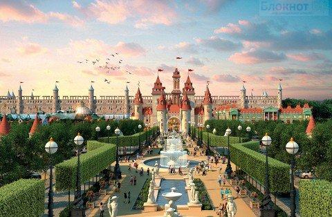 В интернете опубликовали эскизы московского «Диснейленда» в Нагатино