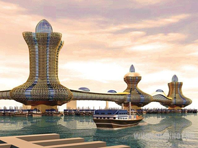 О, Аладдин! В Дубае строят целый город с таким названием