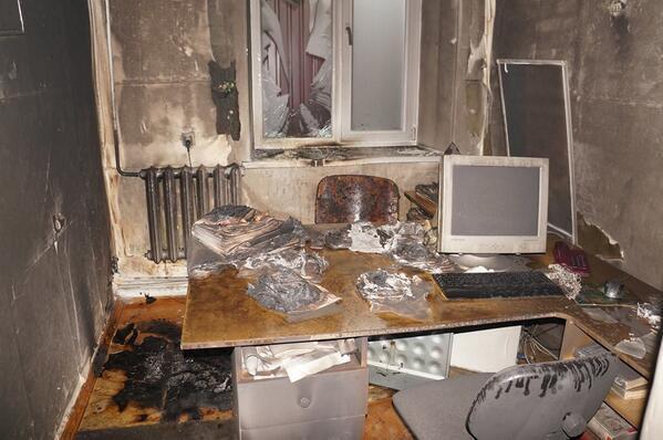 В Донецке уничтожили редакцию газеты