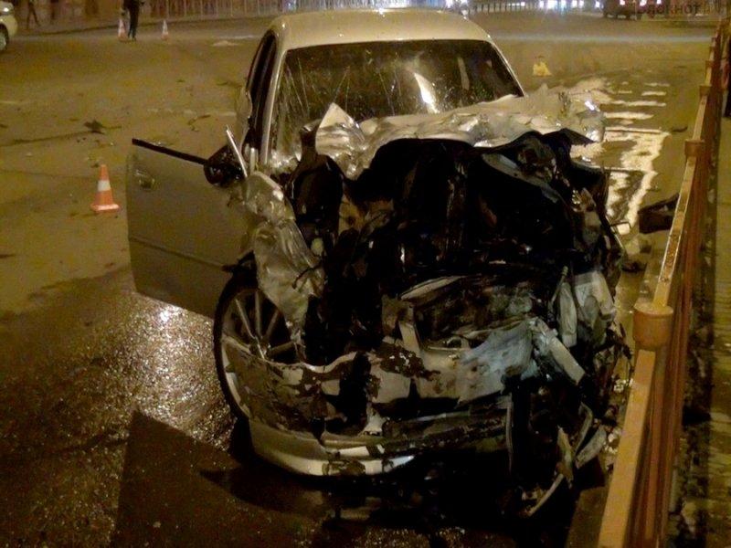 В результате ДТП в Иркутске погиб человек