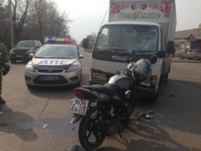 Беременная женщина пострадала в ДТП в Иркутске