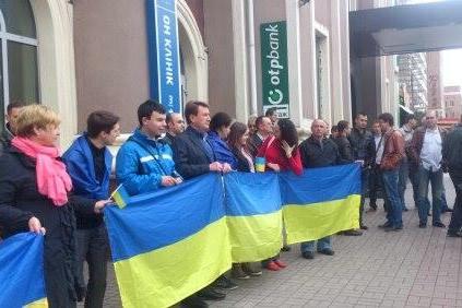 В Донецке перепалку учинили сторонники федерализации и «евромайдана»