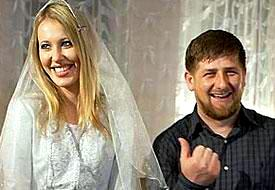 Кадыров предложил закидать Собчак