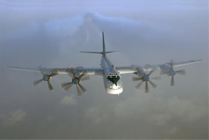Бомбардировщики России поднялись в небо над Северной Европой