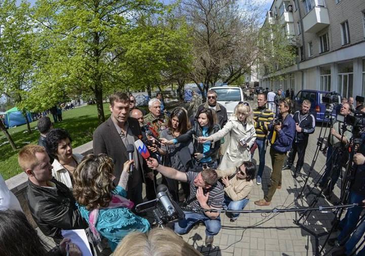 Кандидат в президенты Украины Царев объявил, что готов участвовать в организации переговоров между Киевом и юго-востоком