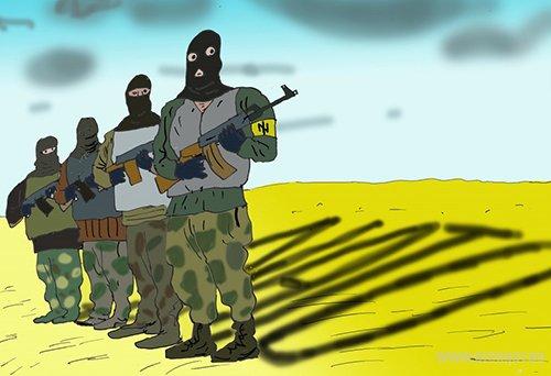НАТО готовит боевиков для подавления протестов на востоке Украины