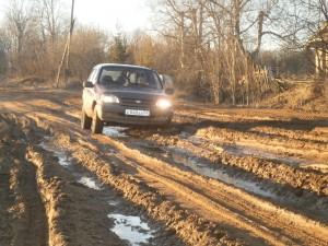 к сотням деревень по лесным дорогам добраться можно только на вездеходе