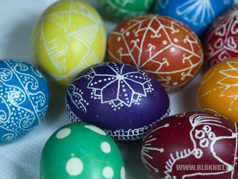 В Иркутске пройдут мастер-классы по росписи пасхальных яиц